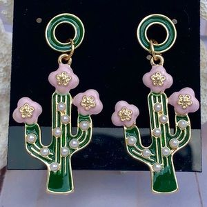 Adorable Cactus Earrings